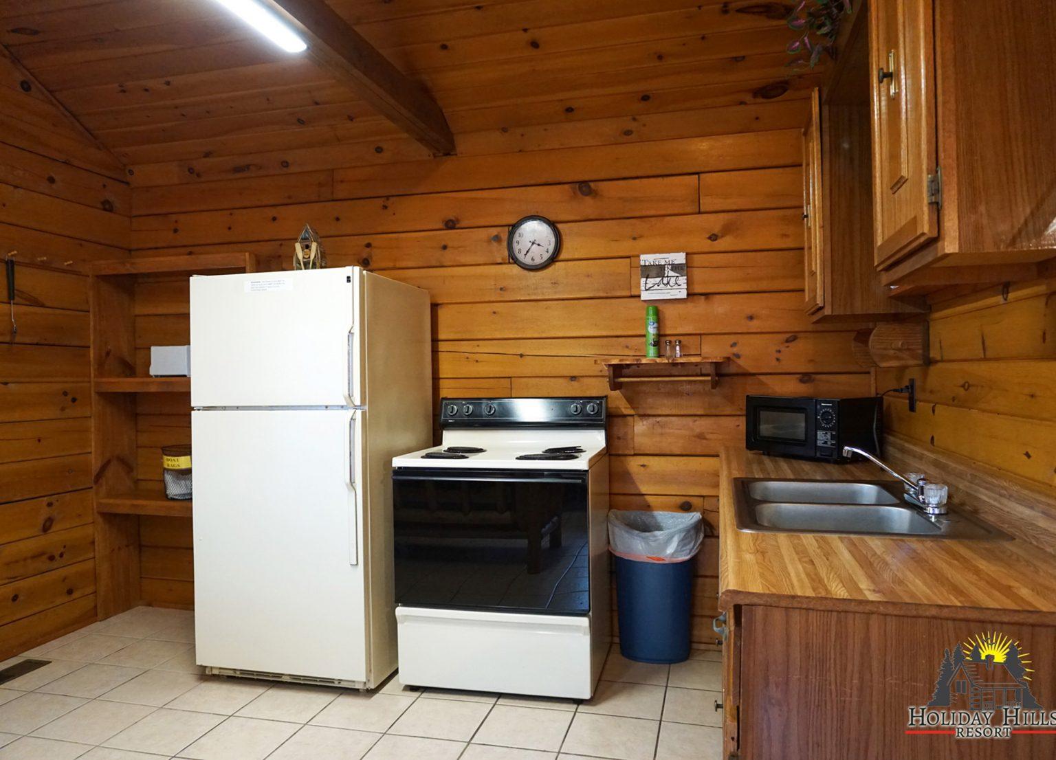 3- log cabin Kitchen